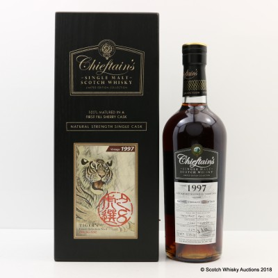 Mortlach 1997 Tiger's Finest Selection No.8 Chieftain's