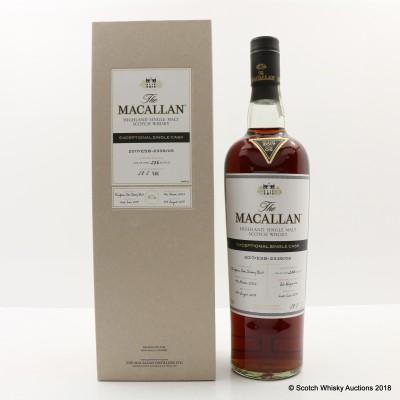 Macallan 2002 Exceptional Cask #05 2017 Release