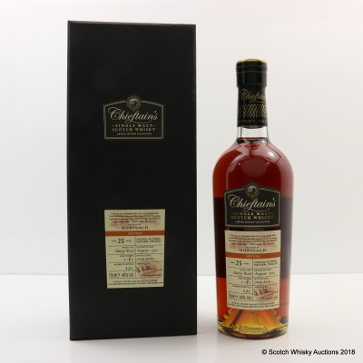 Mortlach 1990 25 Year Old Chieftain's