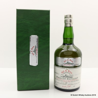 Macallan 1976 27 Year Old Old & Rare