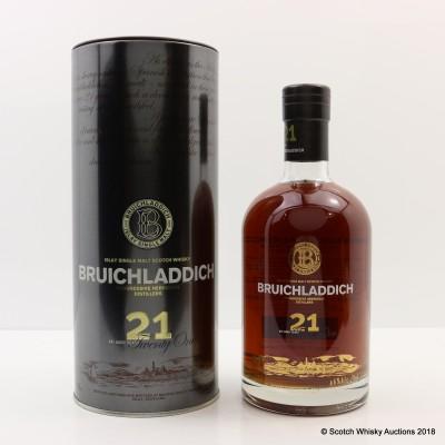 Bruichladdich 21 Year Old