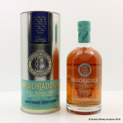Bruichladdich 20 Year Old Second Edition
