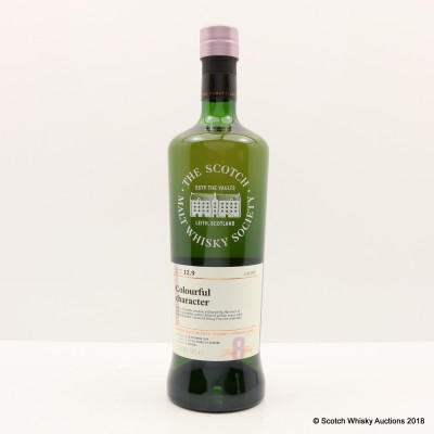 SMWS 12.9 BenRiach 2000 8 Year Old