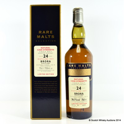 Rare Malts Brora 1977 24 Year Old