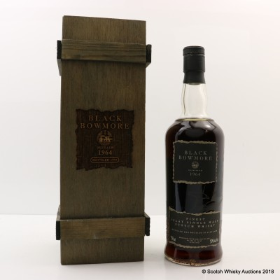 Bowmore Black 1964 2nd Edition 75cl