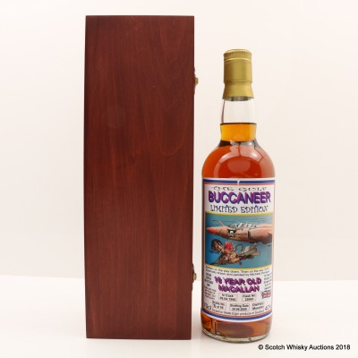 Macallan 1990 18 Year Old The Gulf Buccaneer Second Edition