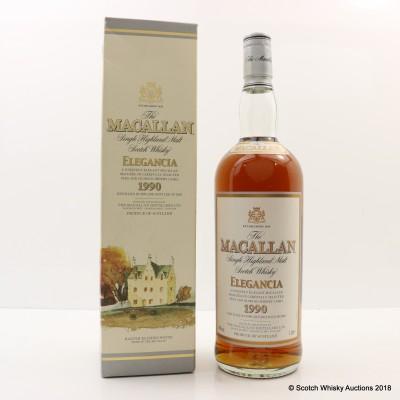 Macallan 1990 Elegancia 1L