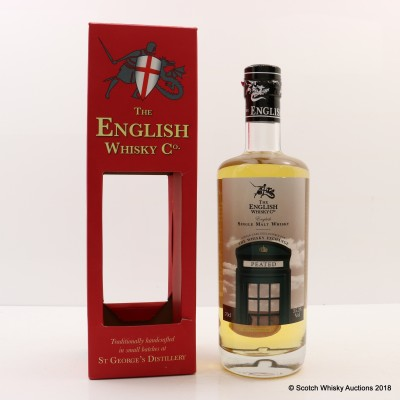 English Whisky Co Peated Single Cask For The Whisky Exchange
