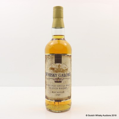 Macallan 1989 Whisky Galore