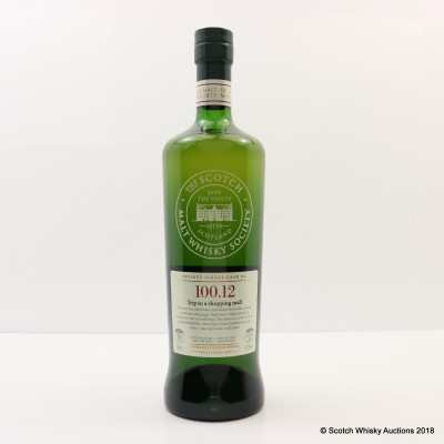 SMWS 100.12 Strathmill 2005 10 Year Old