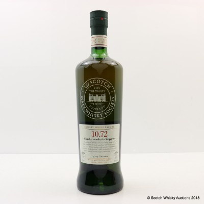 SMWS 10.72 Bunnahabhain 12 Year Old