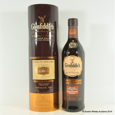 Glenfiddich Cask Of Dreams Canadian Edition 75cl