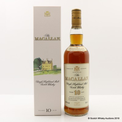 Macallan 10 Year Old Old Style