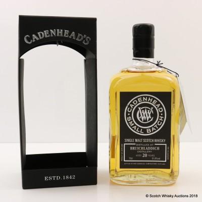 Bruichladdich 1993 20 Year Old Cadenhead's