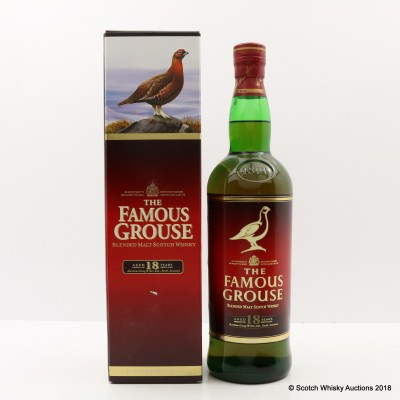 Famous Grouse 18 Year Old