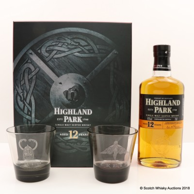 Highland Park 12 Year Old Valhalla Gift Set
