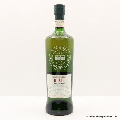 SMWS 100.11 Strathmill 1998 15 Year Old