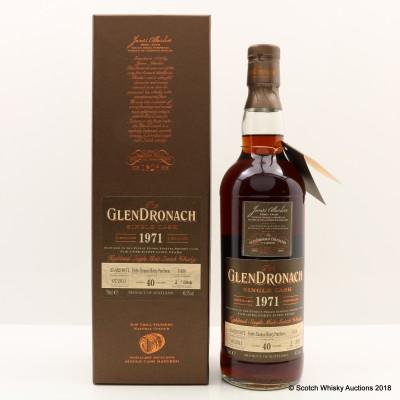 GlenDronach 1971 40 Year Old Single Cask #1436