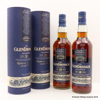 GlenDronach 18 Year Old Allardice 2 x 70cl