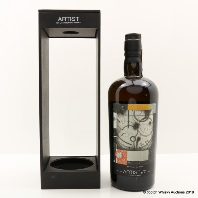 Compass Box Blended Whisky Artist Series #7 By La Maison Du Whisky For 70th Anniversary Of Velier