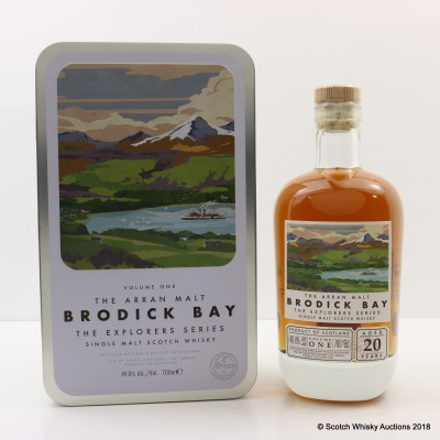Arran 20 Year Old Explorers Series - Volume One 'Brodick Bay'