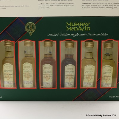 Murray McDavid 'The First Six' Mini Collection 6 x 5cl Including Macallan 1974