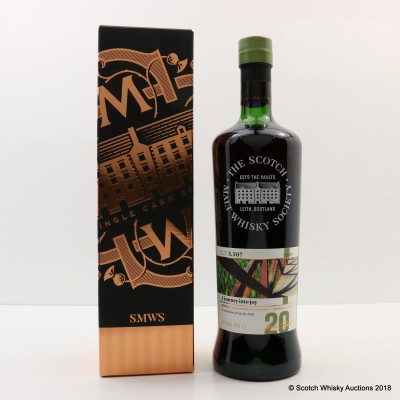 SMWS 3.307 Bowmore 20 Year Old Feis Ile 2018