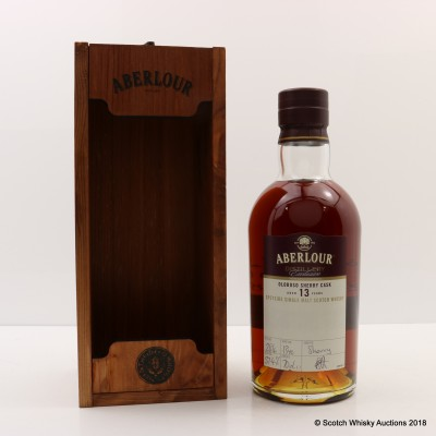 Aberlour 13 Year Old Oloroso Sherry Cask Distillery Exclusive