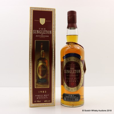 Singleton of Auchroisk 1983 75cl