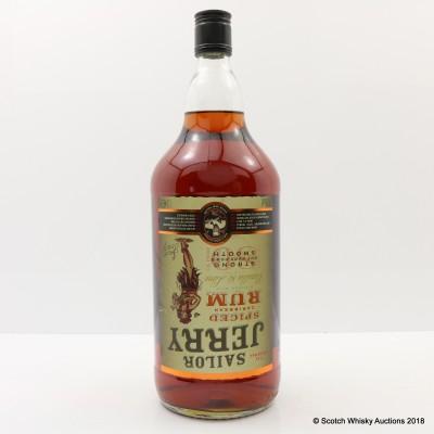 Sailor Jerry Spiced Rum 'The Original' 1.5L