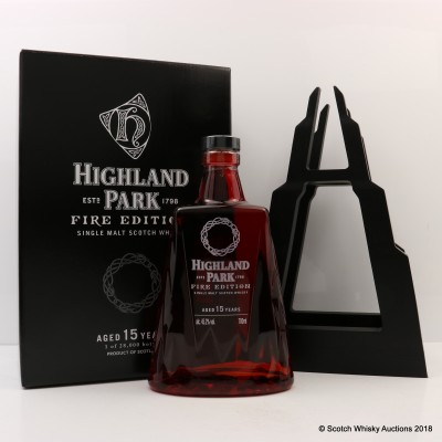 Highland Park 15 Year Old Fire Edition
