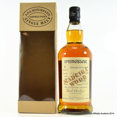 Springbank Madeira Wood 1997 11 Year Old