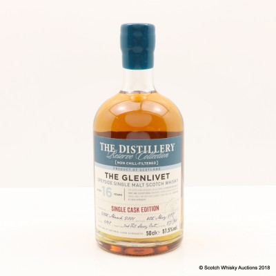 Glenlivet 2001 16 Year Old Distillery Reserve Collection 50cl