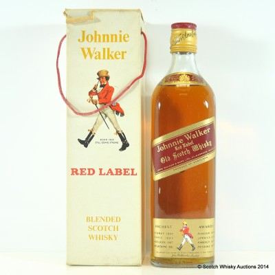 Johnnie Walker Red Label 26 2/3 Fl Ozs
