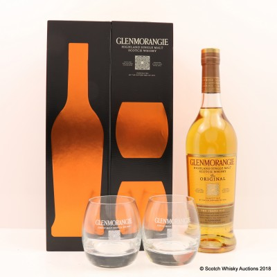 Glenmorangie 10 Year Old Gift Set With Glasses