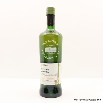 SMWS 29.247 Laphroaig 1998 19 Year Old