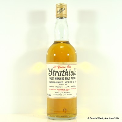 Strathisla 12 Year Old Old Style 75cl