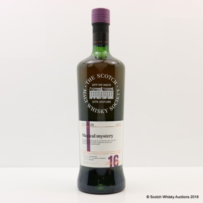 SMWS 11.34 Tomatin 2000 16 Year Old
