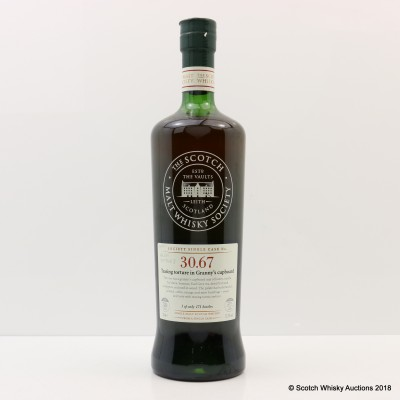 SMWS 30.67 Glenrothes 30 Year Old