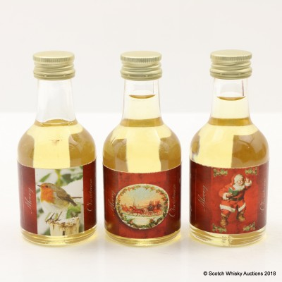 Christmas Speyside Whisky Connoisseur Minis 3 x 5cl