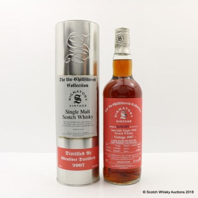 Glenlivet 2007 10 Year Old Signatory Whisky Exchange Exclusive