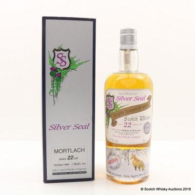 Mortlach 1989 22 Year Old Silver Seal