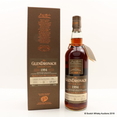 GlenDronach 1994 21 Year Old Single Cask #3399