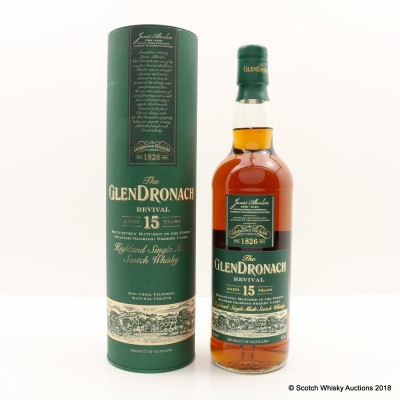 GlenDronach 15 Year Old Revival Old Style
