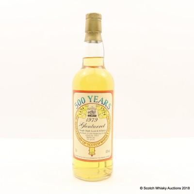 Glenturret 1979 500th Anniversary Of Scotch Whisky Distilling Master Of Malt