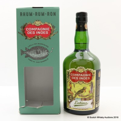 Latino 5 Year Old Rum Compagnie Des Indes