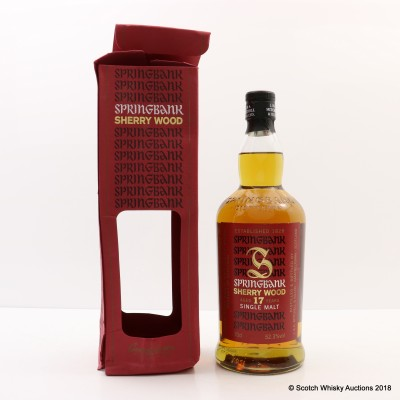 Springbank 1997 17 Year Old Sherry Wood