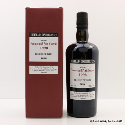 Enmore & Port Mourant 1998 16 Year Old Blended Rum