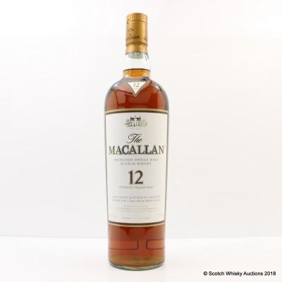 Macallan 12 Year Old 1.75L