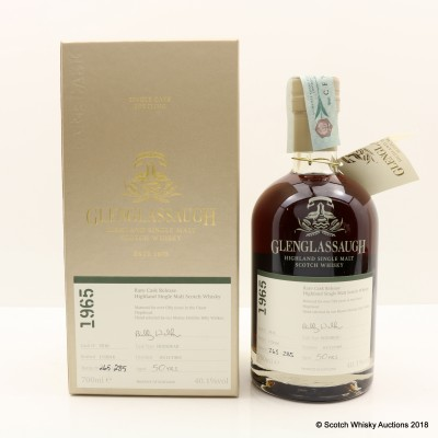 Glenglassaugh 1965 50 Year Old Rare Cask